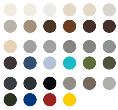 Palette colori Vega